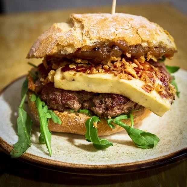 Bad Cheesenut Burger